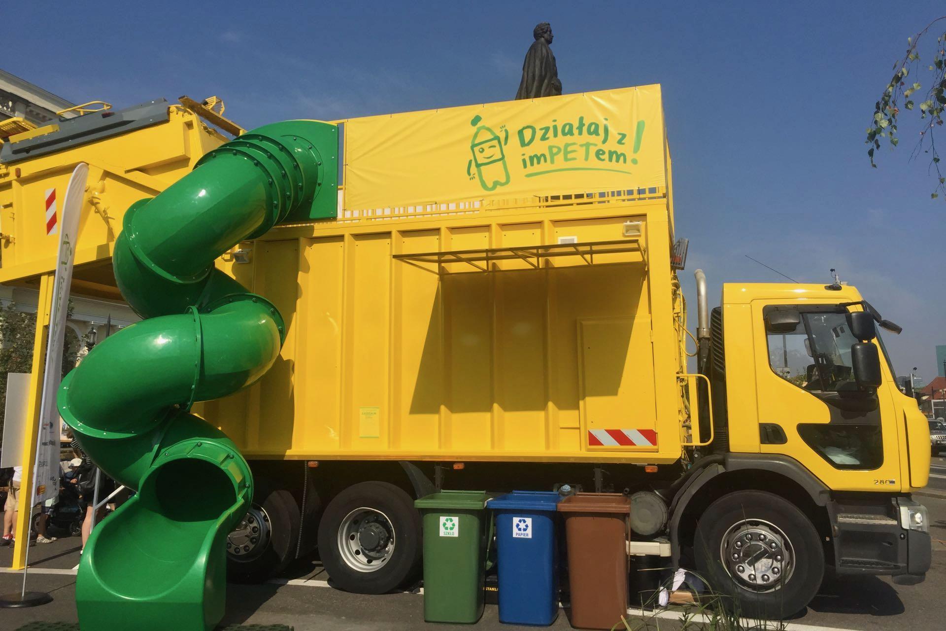 strefa edukacji o recyklingu